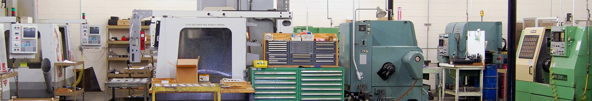 n and p precision machine shop floor